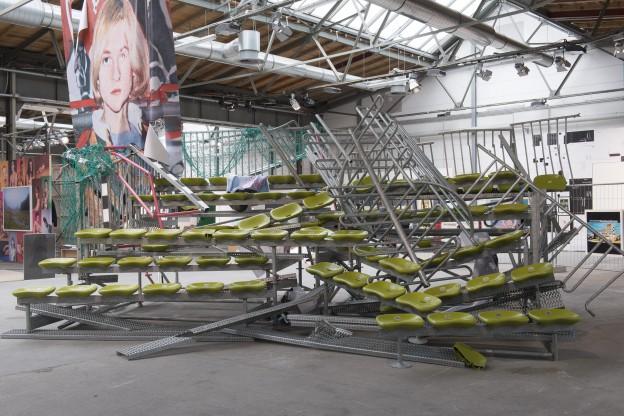 Installationview Olaf Metzel © Stefan Korte